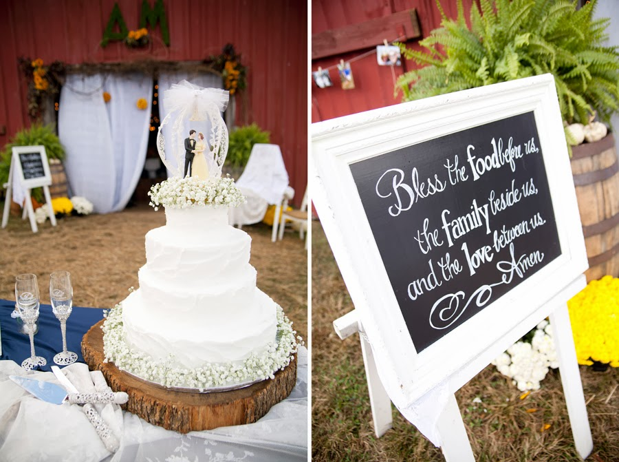 Cake and Sign