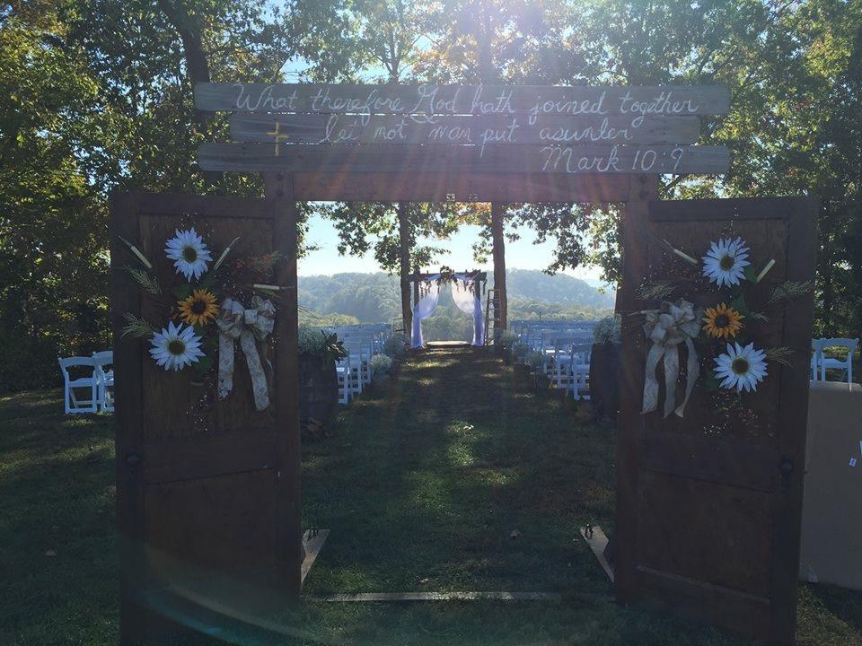 Ceremony Site Decorated